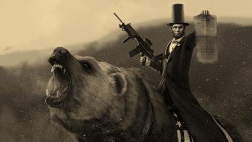 林肯借书的小故事