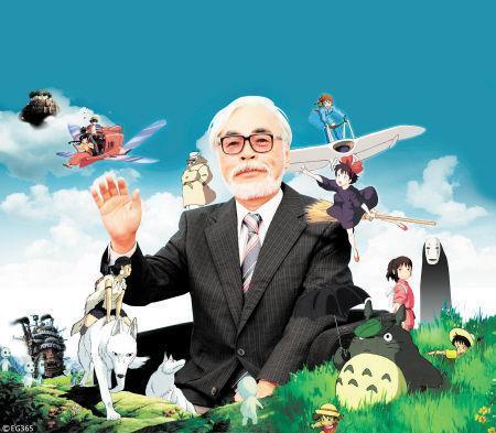 被中国人喜欢的日本动漫家宫崎骏