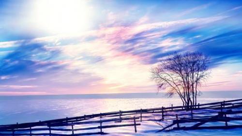冬天美景的好词好句摘抄40句