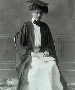 青年时期的海伦凯勒
